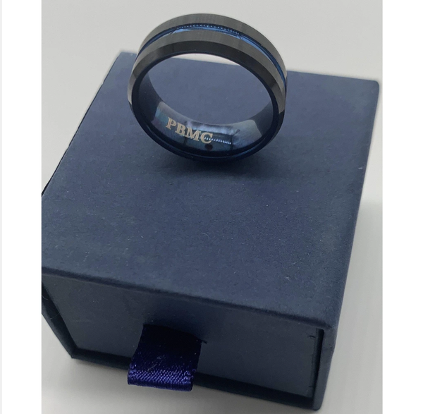 Thin Blue Line Ring - Back the Blue