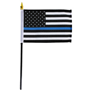 A Surprise Gift Bag Filled with Thin Blue Line Collectibles for Law Enforcement Officers