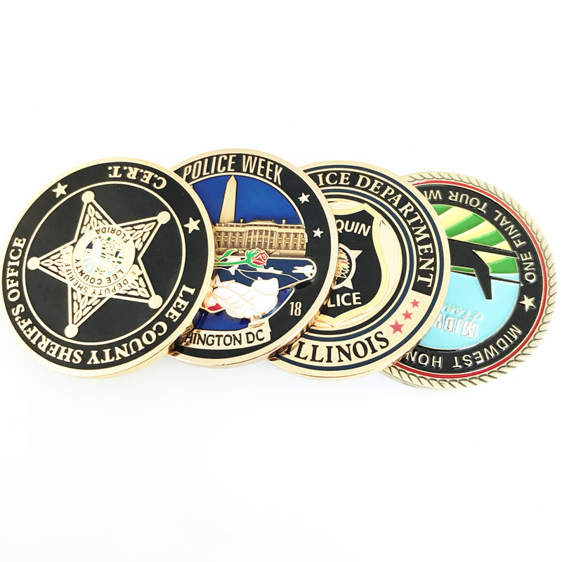 New Mexico State Police Challenge Coins – Honoring New Mexico Police Officers