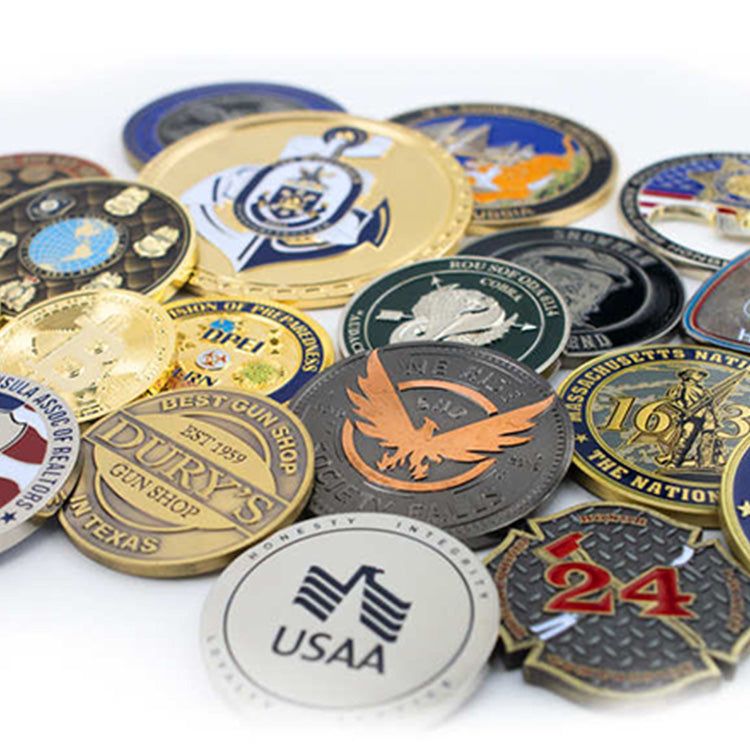 Wisconsin State Police Challenge Coins – Back the Blue in Wisconsin