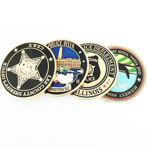 Oklahoma State Police Challenge Coins – Honoring Oklahoma State Troopers