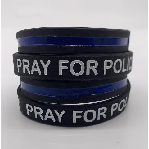 Appreciating the Police Using Bracelets