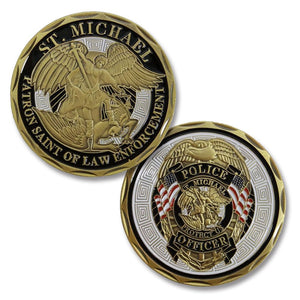 Different Types of Law Enforcement Challenge Coins