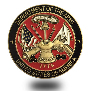 Challenge Coins for Promoting National Service Spirit