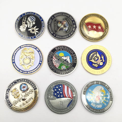 police challenge coins, police collectibles