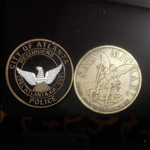 Georgia Police Challenge coins, police collectibles, police challenge coins