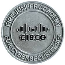 Cisco corporate challenge coin