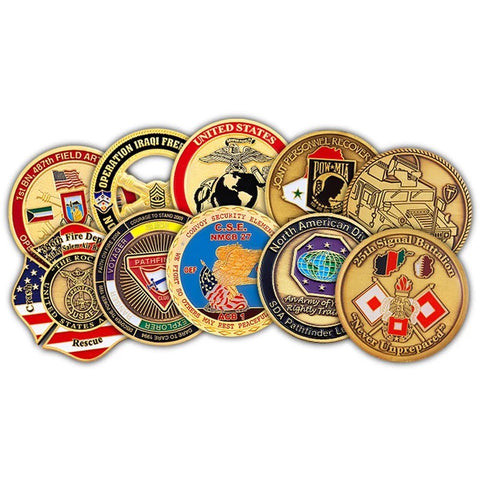 challeneg coins, police challenge coins, police coins