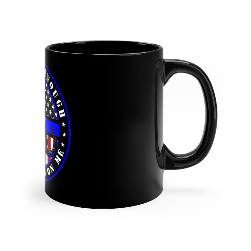 Police Officer Gift-Don't Tread on Me Coffee Mug-Thin Blue Line Coffee Cup