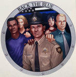 Back The Blue Deputy Decal-Police Brand Memorabilia and Collectibles
