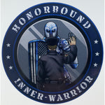 Honorbound Inner-Warrior Reflective Decal-Police Brand Memorabilia and Collectibles