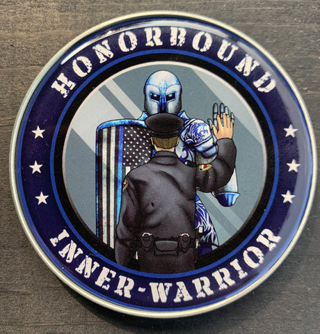 Honorbound Inner-Warrior Police Coin-Police Brand Memorabilia and Collectibles