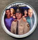 Back The Blue Sheriff's Deputy Challenge Coin-Black Male Deputy-Police Brand Memorabilia and Collectibles