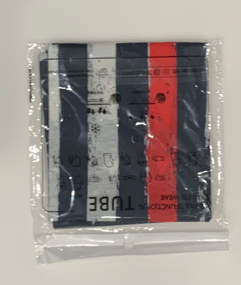 Neck Gaiter-Thin Red Line Cross Gaiter-Police Brand Memorabilia and Collectibles