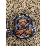 MO Bear State Trooper Challenge Coin-Police Brand Memorabilia and Collectibles