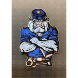 Police Bulldog Sticker-Police Brand Memorabilia and Collectibles