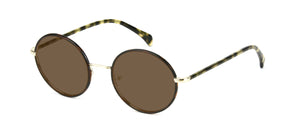 Tortoise and Gold sunglasses