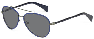 Blue and Pewter sunglasses