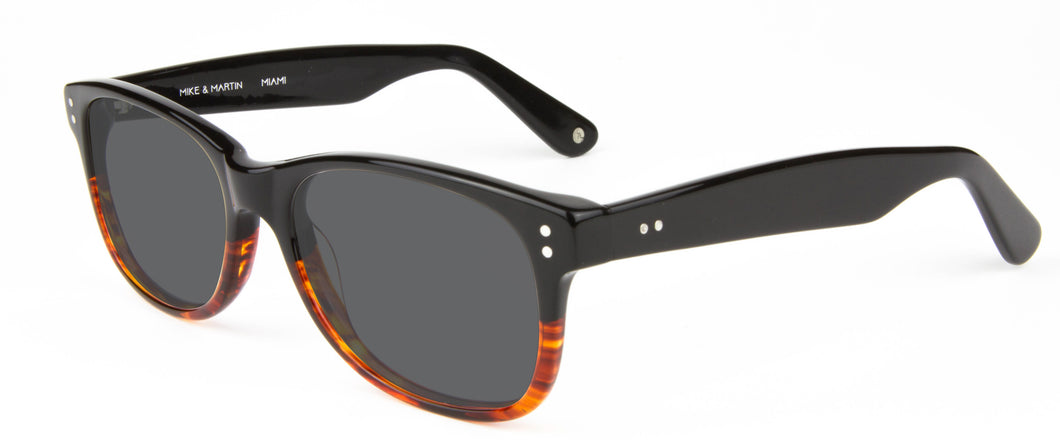 Black Whiskey Fade sunglasses