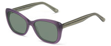 Load image into Gallery viewer, Beverly Hills Purple With Smoke Crystal Temples sunglasses