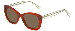 Hollywood Red With Crystal Temples sunglasses