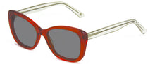 Load image into Gallery viewer, Hollywood Red With Crystal Temples sunglasses
