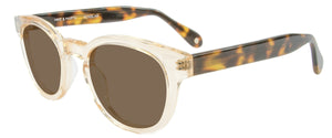 Honey Crystal Tortoise Temples sunglasses