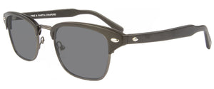 Matte Pewter Black sunglasses