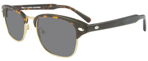 Matte Tortoise Brushed Gold sunglasses