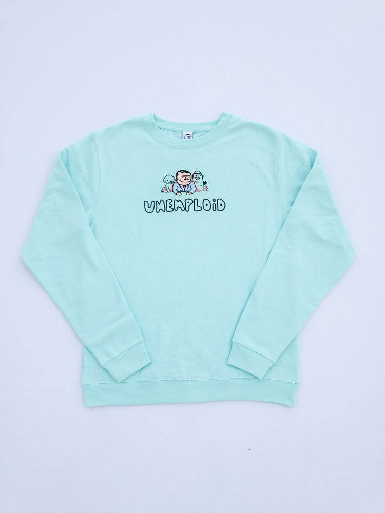 Food With Friends Crew neck Sweatshirt Mint