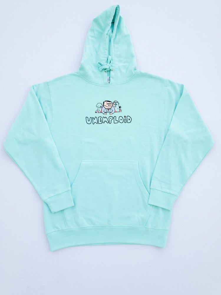 Food With Friends Hoodie Mint