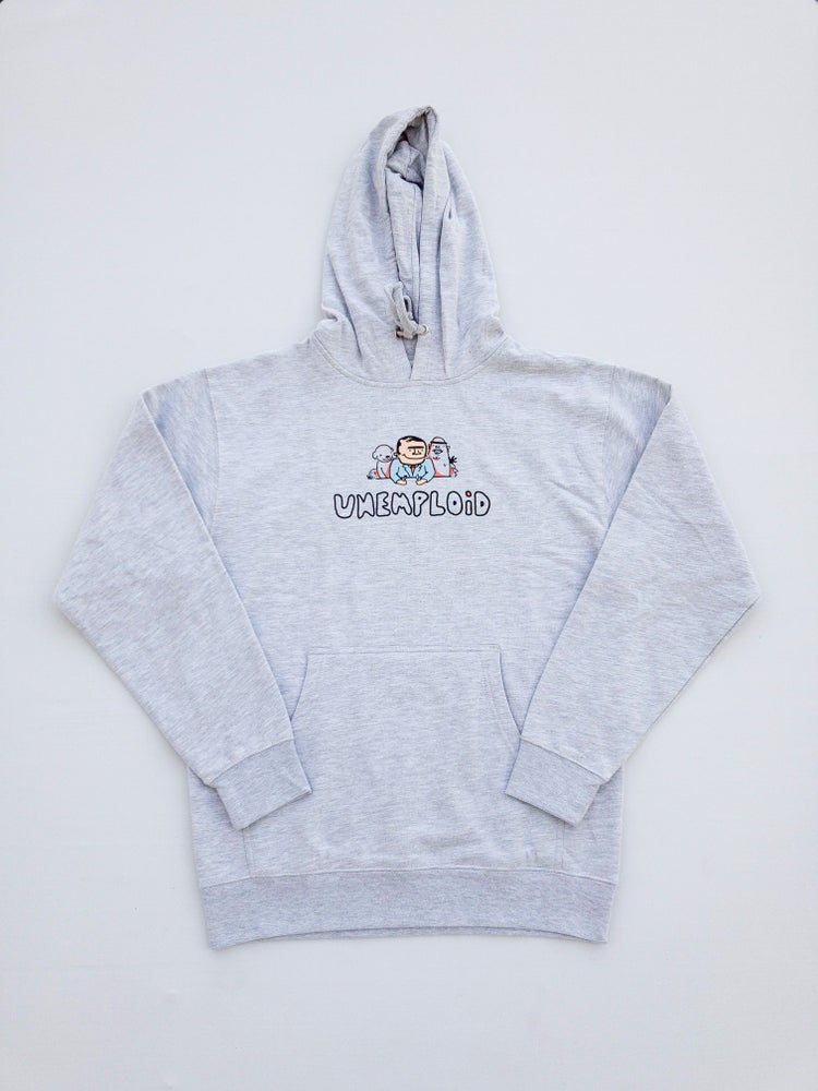 Scrumptious Food With Friends Hoodie Light Grey