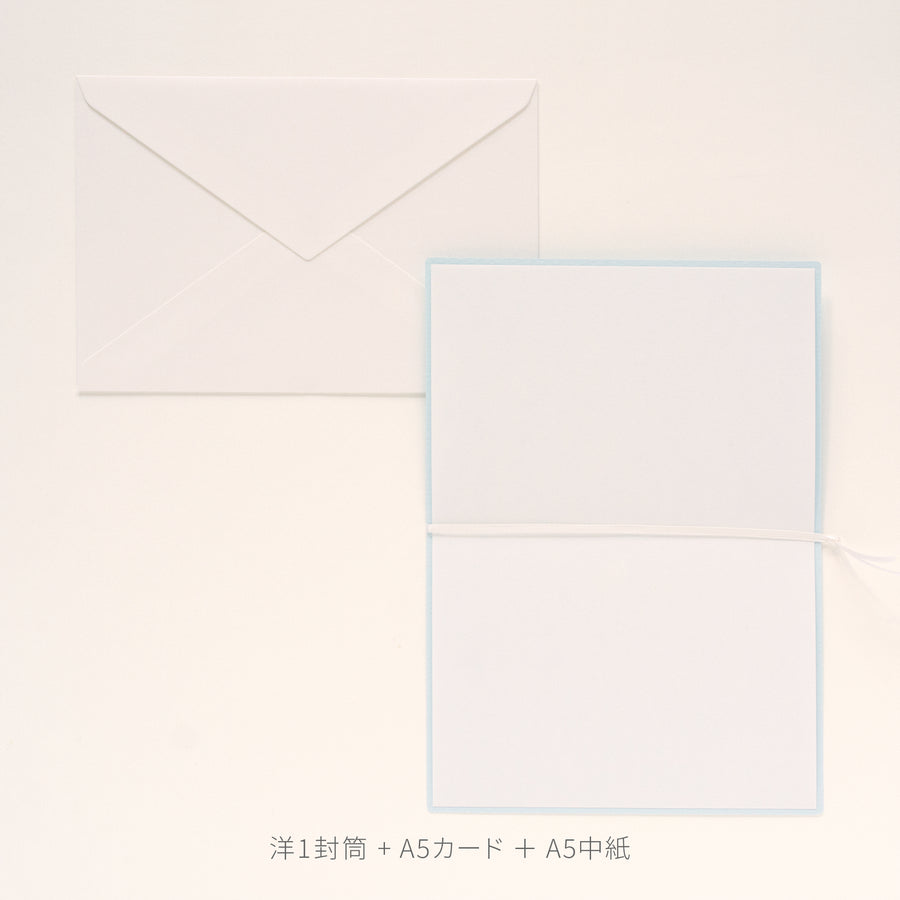 PAPER PALETTE A5カード ビオトープ フォレストグリーン