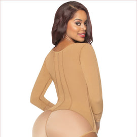 FAJA Body Espalda Alta, brazos y Panty / Shapewear High Back, Arm Cover and Body Boyshort - Sexy Fajas Colombianas