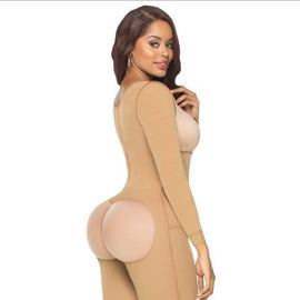 FAJA Enterizo Manga Brasier / Shapewear One Piece Sleeves and Bra - Sexy Fajas Colombianas