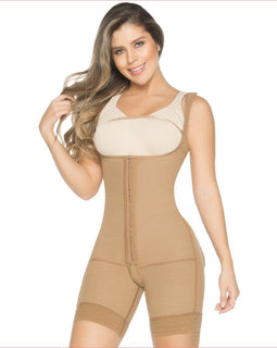 FAJA Enterizo Pierna Corta / Shapewear One Piece Short Leg - Sexy Fajas Colombianas