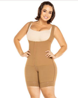 Plus Size FAJA Enterizo Espalda Alta / Shapewear One Piece High Back - Sexy Fajas Colombianas