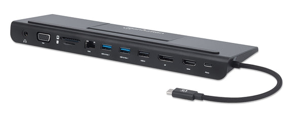 Docking Station USB-C™ 11-in-1 Triplo monitor con MST Image 1