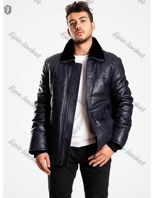 Epic Black Stylish Men Leather Jacket