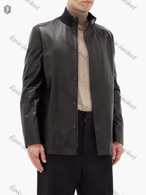 Epic Warren leather field jacket