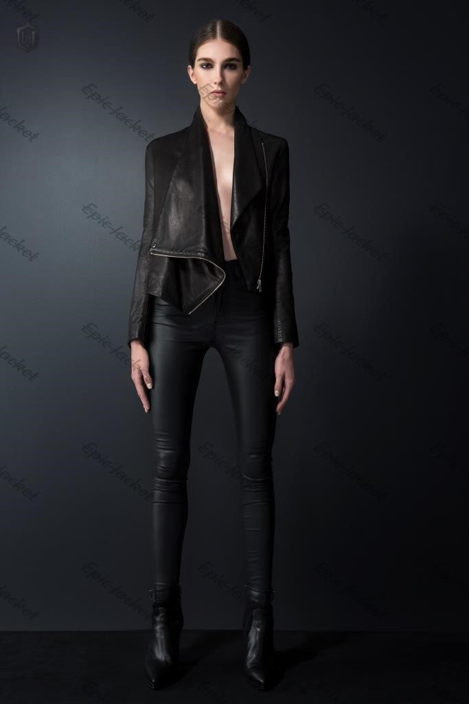 Epic Women leather jacket