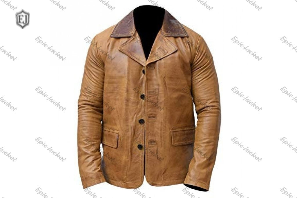 Epic Arthur Morgan Brown Leather Jacket