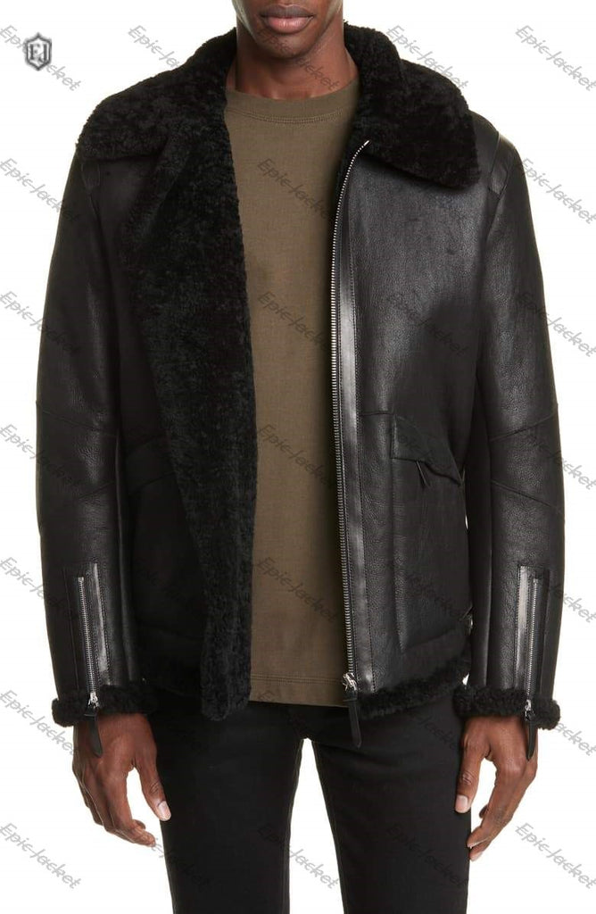 Epic made Genuine Shearling leather Jacket