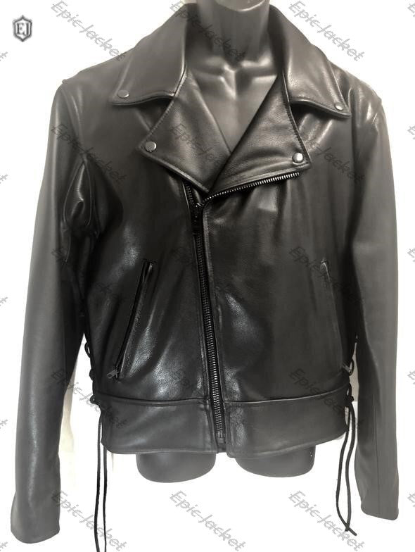 Epic Men Style leather Jacket with Liner