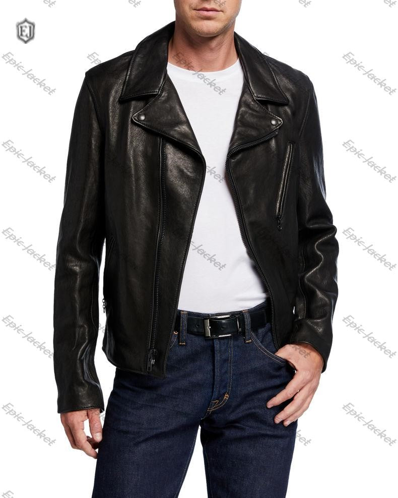 Epic made Men's Lambskin Leather Jacket