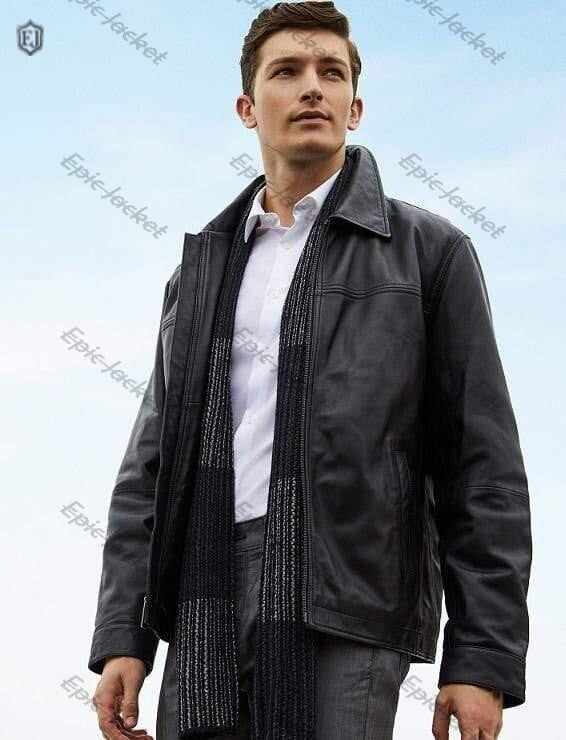 Epic Classic Mans Leather Jacket