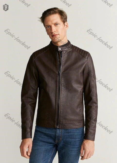 Epic Faux leather biker jacket