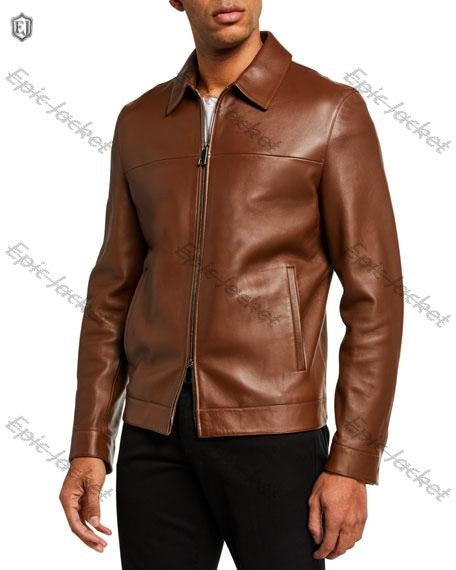 Theory Men's Epic Leather Jacket