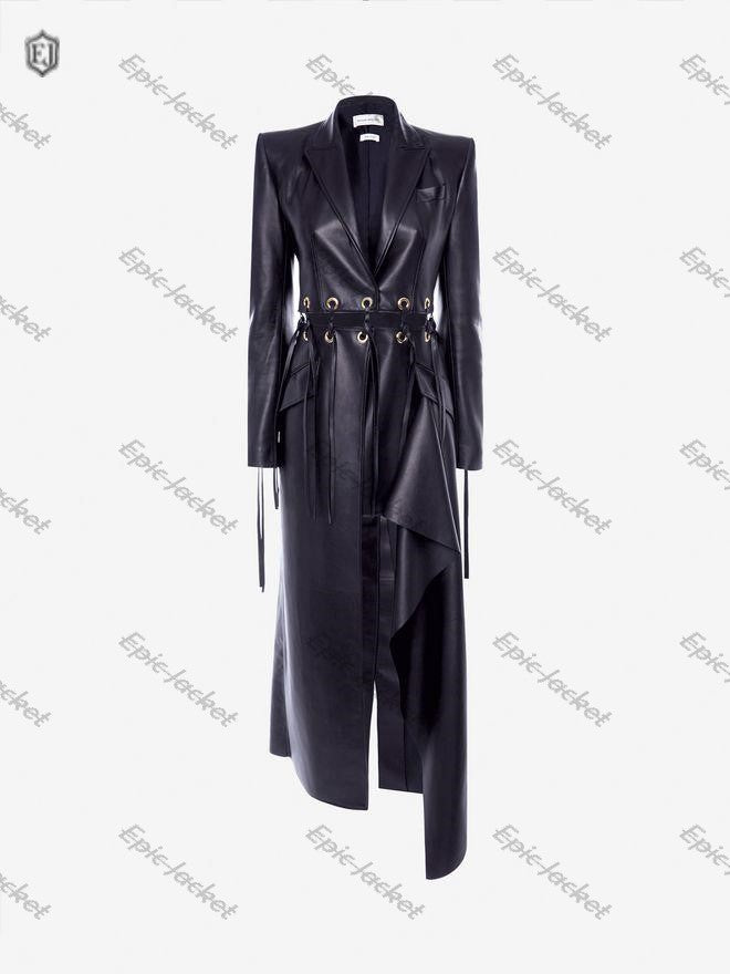 Epic Eyelet Women leather Coat