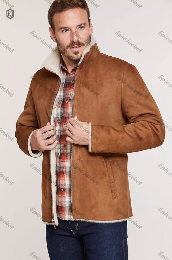 Epic Spanish Sheepskin Men Jacket